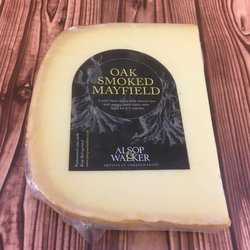 Oak Smoked Mayfield Swiss Emmental Style Cheese 160g by Alsop & Walker