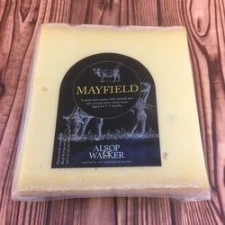 Mayfield Swiss Emmental Style Cheese 160g by Alsop & Walker