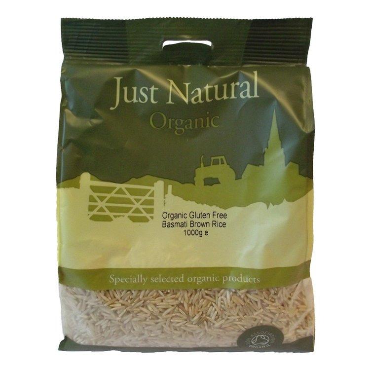 Gluten-Free Organic Basmati Brown Rice 1kg