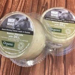 Organic Slipcote with Dill Sheep's Milk Soft Cheese by High Weald Dairy
