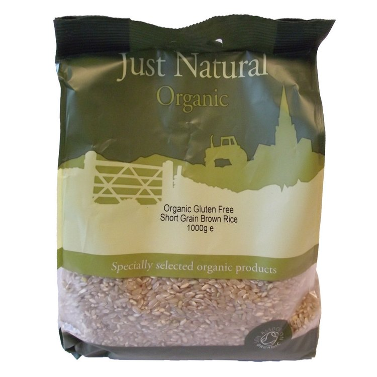 Short grain brown rice 1kg