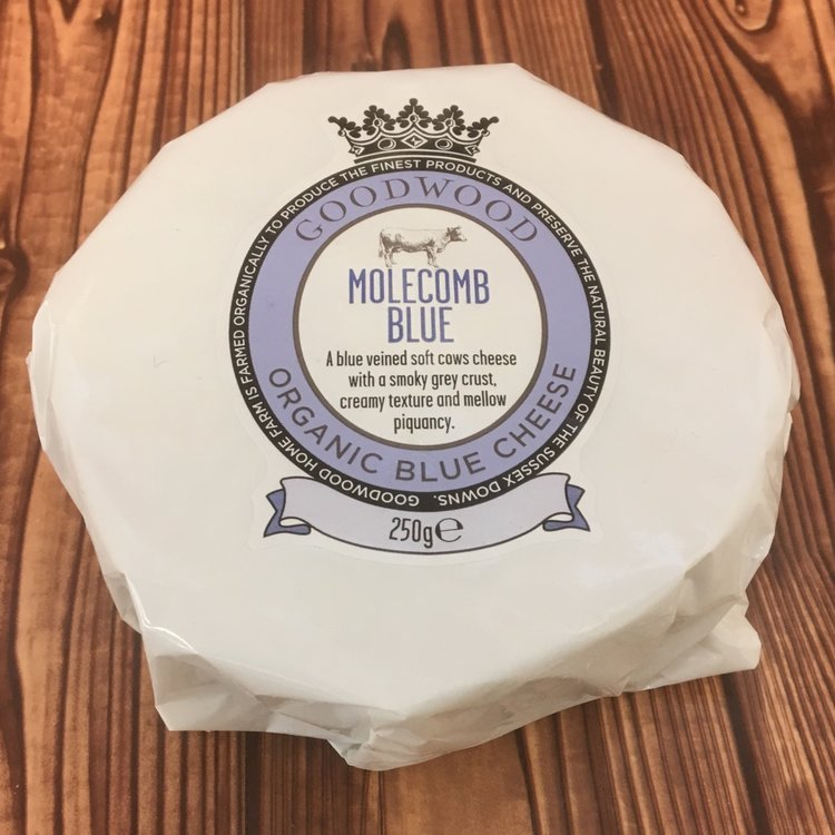 Organic Molecomb Blue Cheese 250g by Goodwood Estate