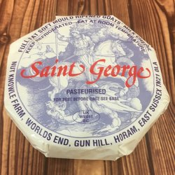 St George Goat's Milk Camembert Cheese 250g by Nut Knowle Farm