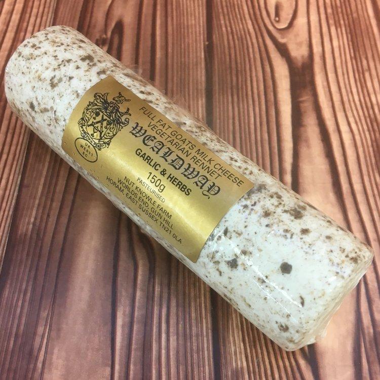 Wealdway Garlic & Herb 150g by Nut Knowle Farm