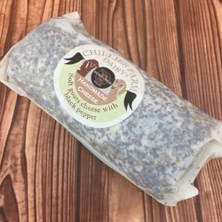 Sussex Peppercorn Goat's Cheese Log 240g by Chillies Farm