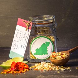 Lime & Chilli Guernsey Sea Salt Crystals 60g Jar (Organic)