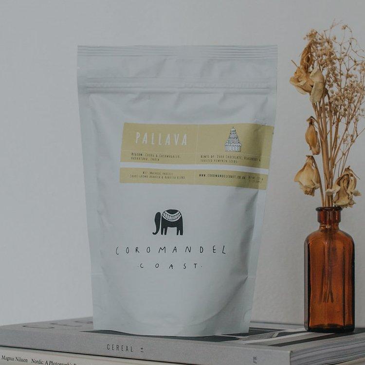 'Pallava House Blend No.1' Indian Coffee Beans 225g (Organic, Fairtrade)
