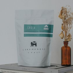 'Chola House Blend No.2' Indian Coffee Beans 225g (Organic, Fairtrade)