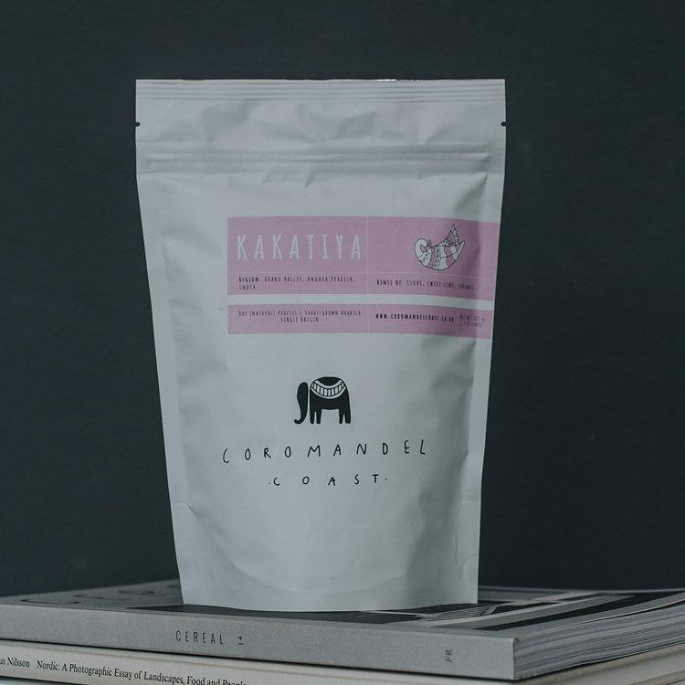 'Kakatiya' Single Origin Indian Ground Coffee 225g (Organic, Fairtrade)