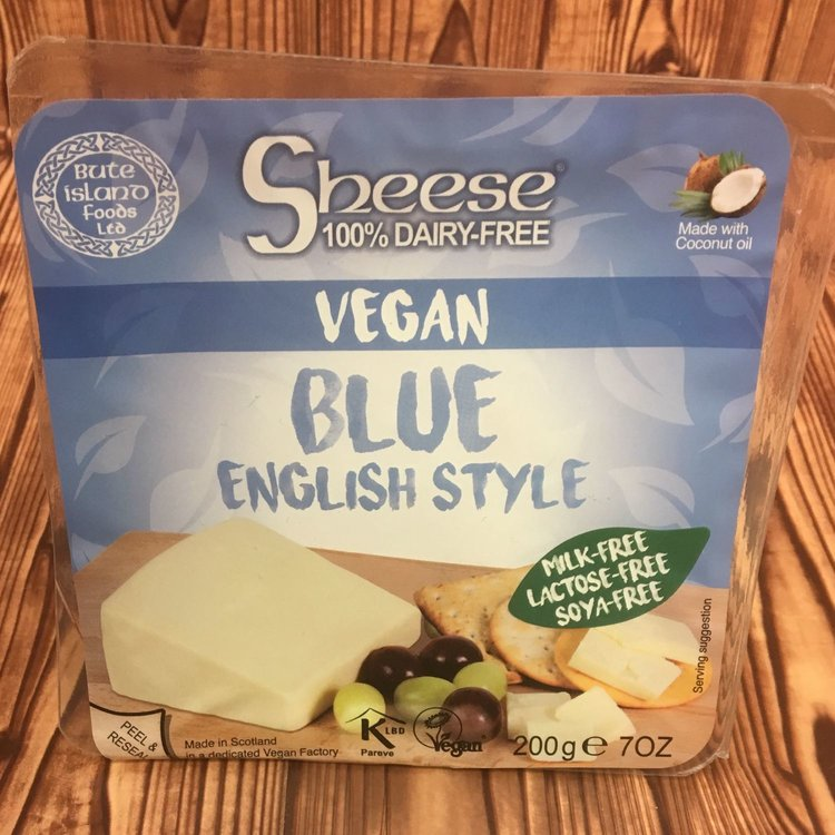 Dairy-Free Blue Style Vegan Cheese ('Sheese') 227g by Bute Island