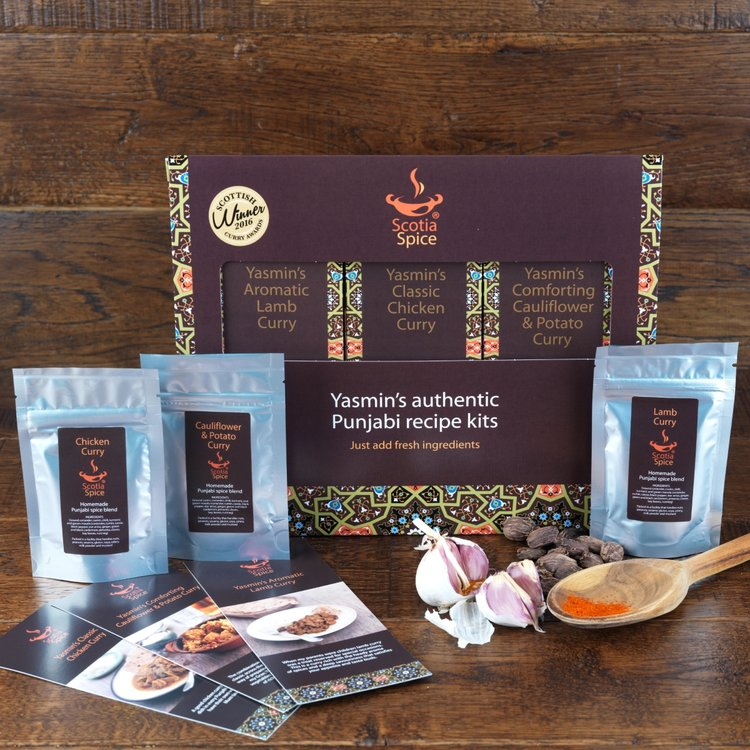 'Bestsellers' Punjabi Curry Spice Blend Recipe Gift Set