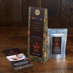 3 x 'Succulent Tandoori Salmon' Punjabi Curry Homemade Spice Blend Recipe Set