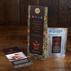 3 x Carrot & Cumin Punjabi Curry Homemade Spice Blend Recipe Set