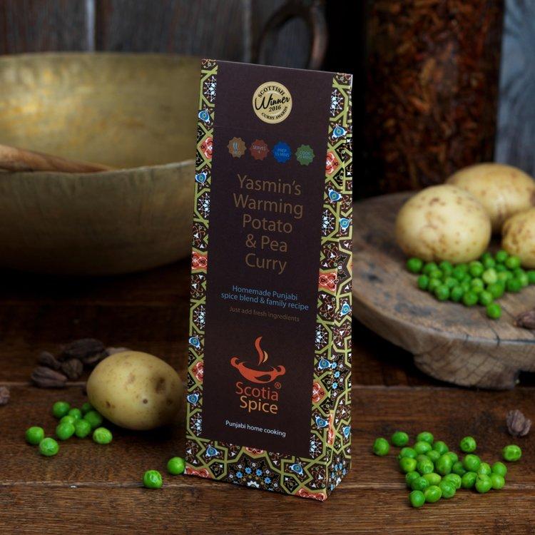 3 x Potato & Pea Punjabi Curry Homemade Spice Blend Recipe Set