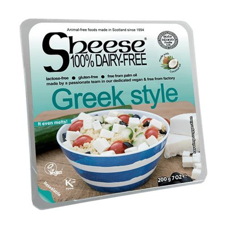 Dairy-Free Greek Style Vegan Cheese ('Sheese') 200g by Bute Island