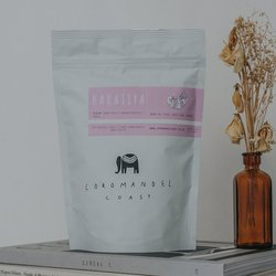 'Kakatiya' Single Origin Indian Coffee Beans 225g (Organic, Fairtrade)