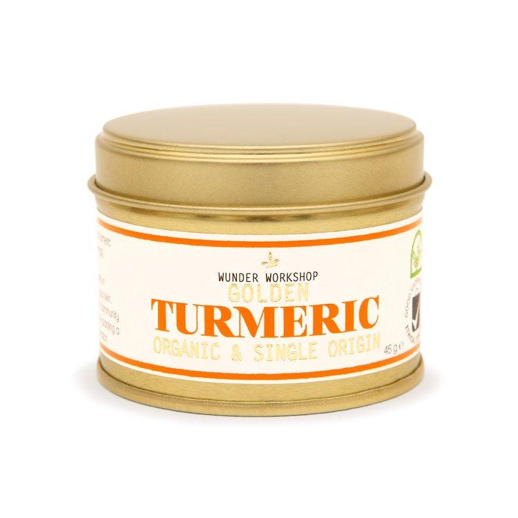 Golden Turmeric Root Powder (Organic) 50g