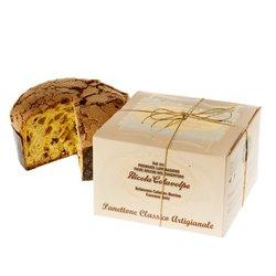 Classic Artisan Italian Panettone Cake in Gift Box 1kg (Handmade)