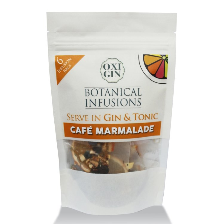 6 'Café Marmalade' Botanical Infusion Bags for Gin & Tonic