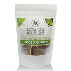 6 'Spiced Ginger' Botanical Infusion Bags for Gin & Tonic