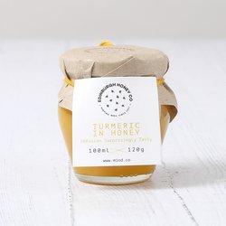 120g Turmeric, Cinnamon & Ginger Raw Honey