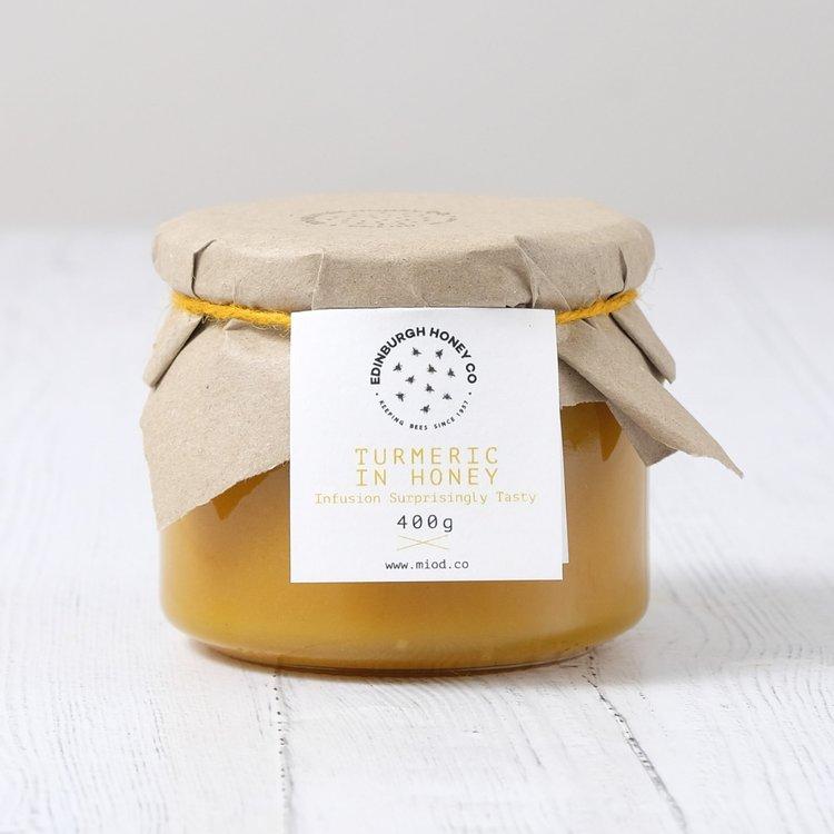 400g Turmeric, Cinnamon & Ginger Raw Honey