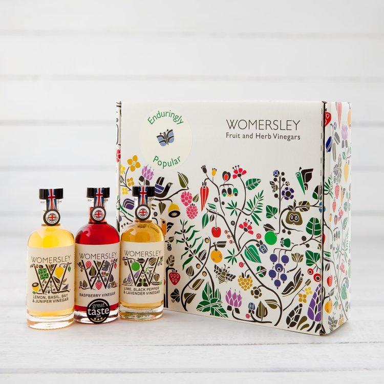 'Enduringly Popular' Fruit & Herb Vinegars with Lemon, Raspberry & Lime Vinegars
