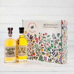 'Divinely Luxurious' Dressing Gift Box with Rapeseed Oil & Lime Vinegar