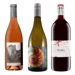 The New Faces of California' 6 Bottle Wine Box with Californian White, Red & Rosé Wines