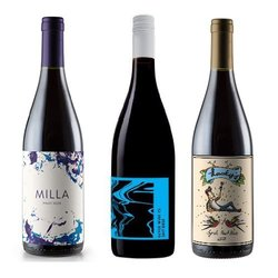 Natural Wines from Australia' 6 Bottle Wine Box with Australian White, Red & Rosé Wines
