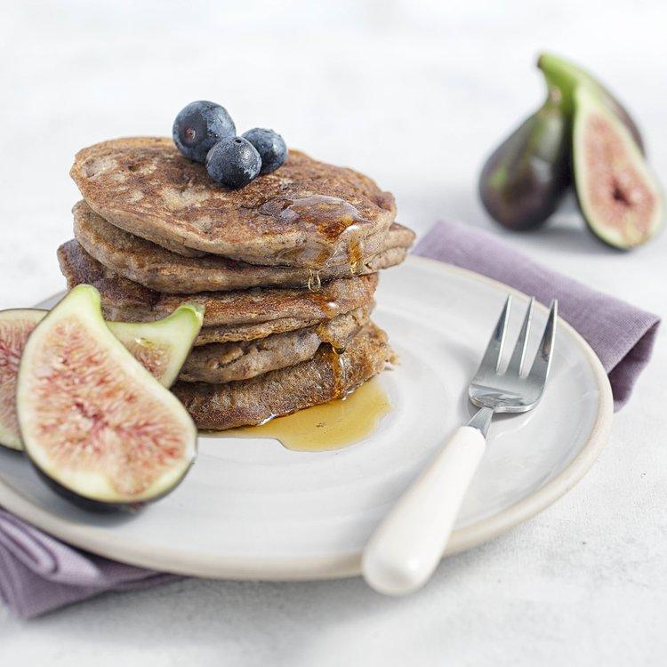 Fig & Orange 'Perfectly Puffed' Pancake Baking Mix with Buckwheat & Lucuma 160g