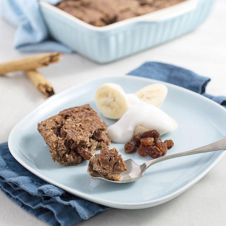 Sweet Cinnamon 'Sumptuous Oatbake' Baking Mix with Buckwheat & Maca 240g