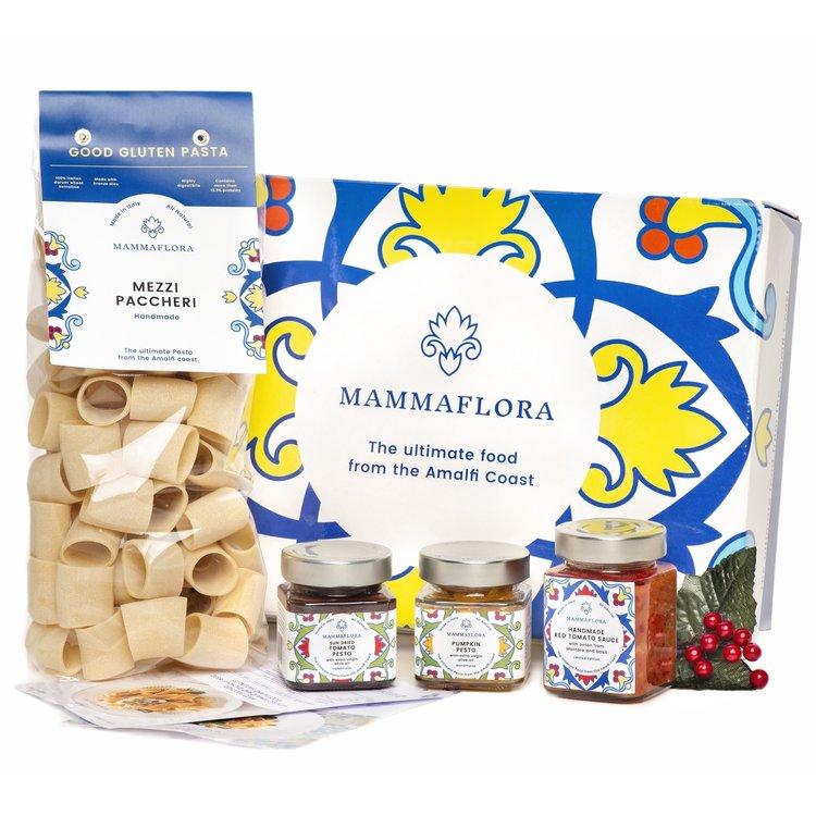 Italian Christmas Pasta, Sauce & Pesto Gift Box