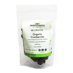 Organic Dried Cranberries 200g