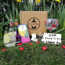 'The Gin Lovers' Gift Set Inc. Gins, Tonic, Chocolate & Tote Bag