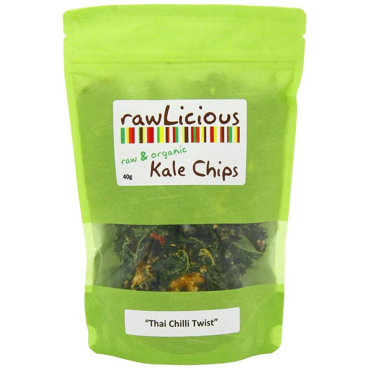 Thai Chilli Twist Kale Chips 40g