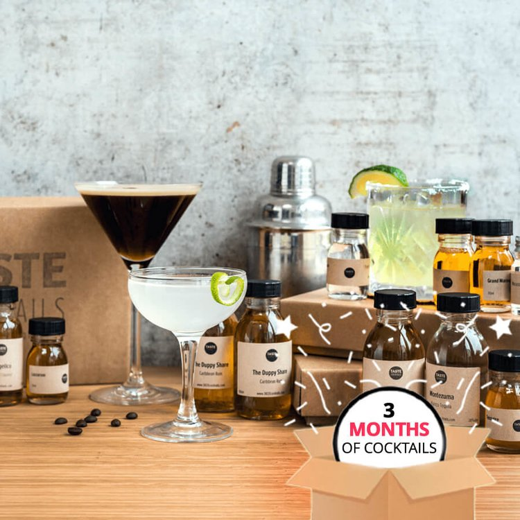 3 Month Cocktail Gift Kit Subscription