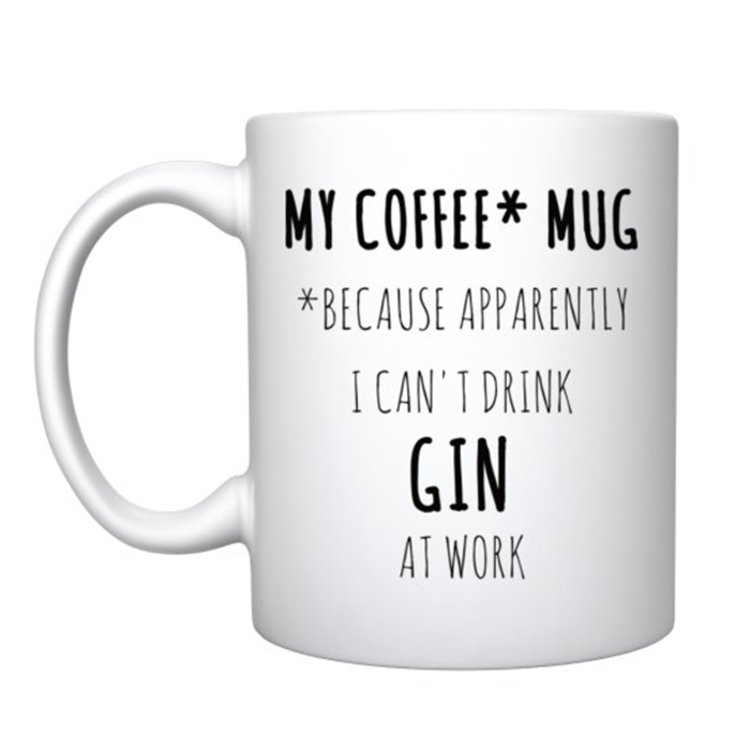 Gin Lovers Coffee Mug