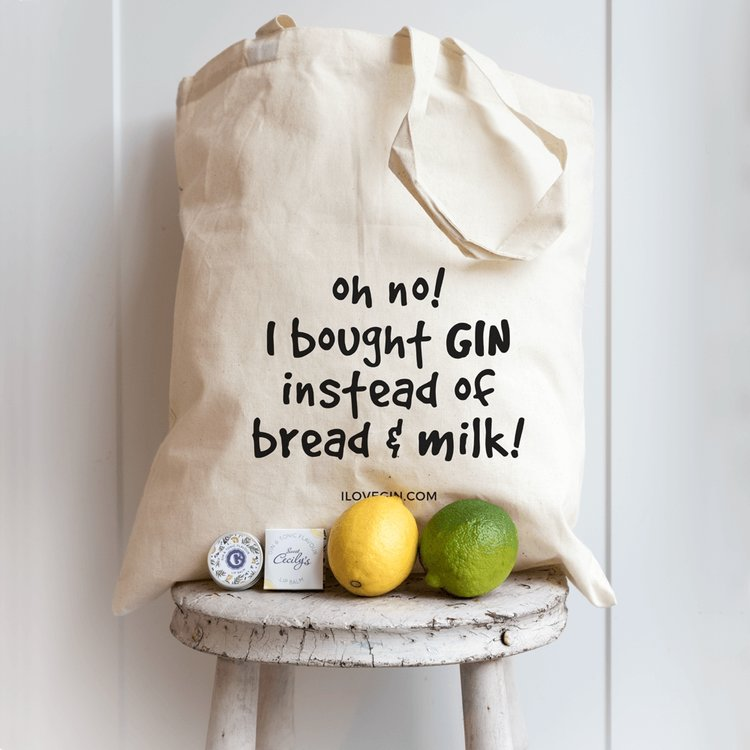'Oh No I Bought Gin' Cotton Gin Lovers Tote Bag