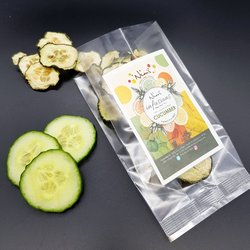 Cucumber Infusions Air-Dried 20g (For Gin, Cocktails & Drinks)