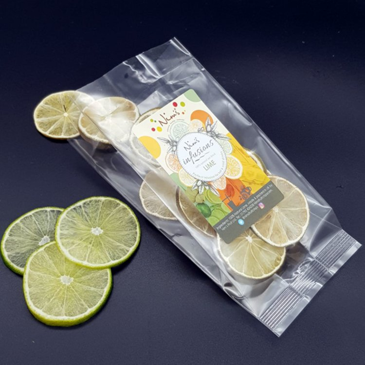 Lime Fruit Infusions Air-Dried 20g (For Gin, Rum, Cocktails & Drinks)