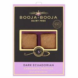 Dark Ecuadorian Organic Chocolate Truffles 69g by Booja-Booja (Dairy Free, Vegan)