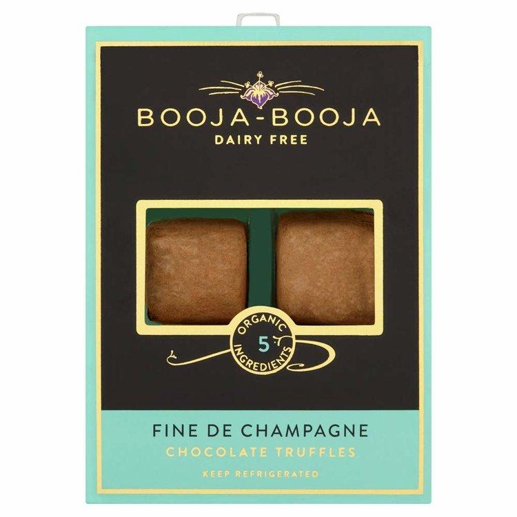 Fine de Champagne Organic Chocolate Truffles 69g by Booja-Booja (Dairy Free, Vegan)