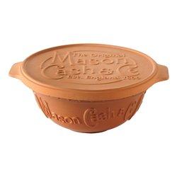 Terracotta Bread Baking Set by Mason Cash Inc. Mixing Bowl & Proving Lid / Baking Stone