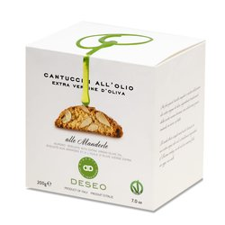 Vegan Cantuccini (Almond Biscotti) with Extra Virgin Olive Oil 160g
