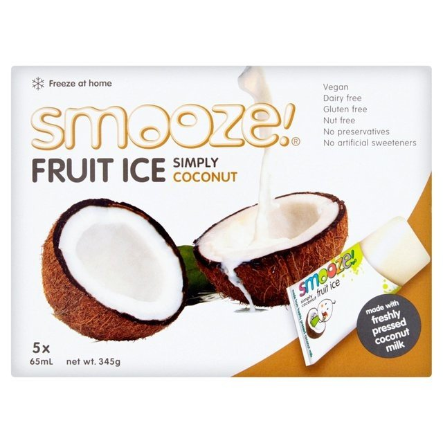 Dairy-Free Coconut Fruit Ice Lollies 5 x 65ml