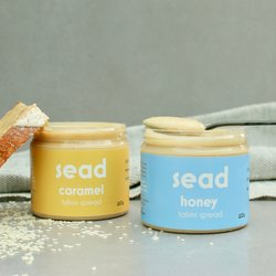 Honey & Caramel Tahini Spread Set 2 x 220g