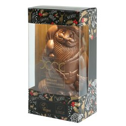 Almond Chocolate Santa Claus Figure in Gift Box 80g (Vegan)
