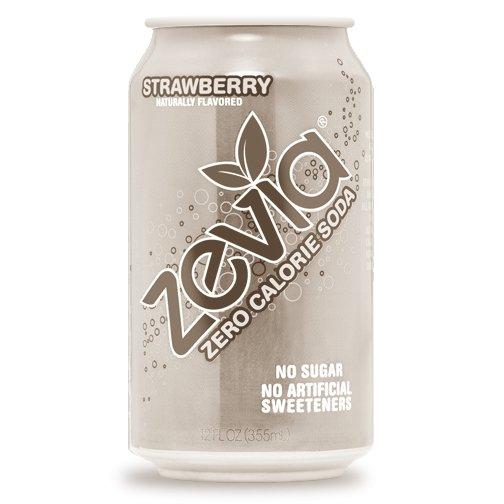 Strawberry Zero Calorie Soda 355ml