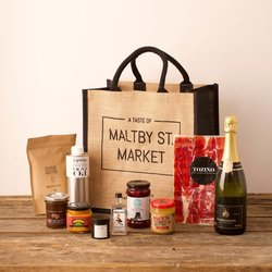 'A Taste of Maltby St. Market' - Luxury Gourmet Gift Set Hamper Limited Edition